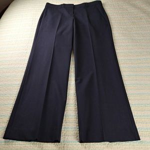 Theory 12 Charcoal Gray Stretch Wool Emery Trouser
